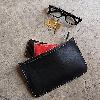 Leather pouch (bag in bag)