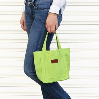 LAPELI │ nylon bag / mother package sunshine grass green
