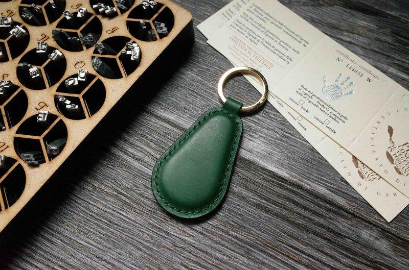 Buttero 悠遊卡晶片吊飾-鑰匙圈B款-綠色