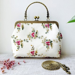 Cheongsam Bag Satchel Handbag handbag embroidered lace gold bag handbag
