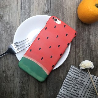 Summer Small Watermelon - iPhone (i5.i6s,i6splus)/Android (Samsung Samsung, HTC, Sony) Original Mobile Shell / Cover Christmas Gift