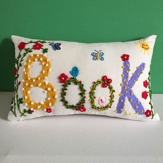 name pillow creative gift - original design handmade wool embroidery pillow custom - custom display