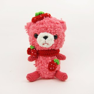 Strawberry Bear / Bear / Decoration / Doll