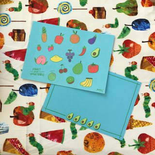 Vegetables and Fruits / Postcards