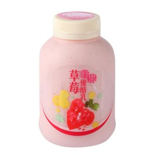 Strawberry fruit yogurt