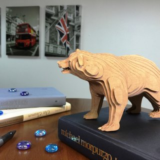 Contamo Handmade Model Wildlife Series - Bear
