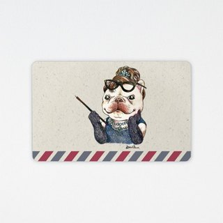 France battle brother travel card - Audrey hop