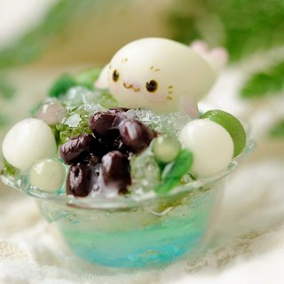 Sweet Dream ☆ summer cool matcha white jaguar shaved ice