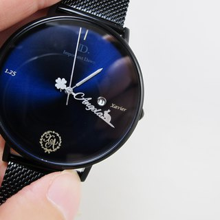 Goody Bag - Customized pointer watch sun pattern 41mm + custom panel + back cover engraving
