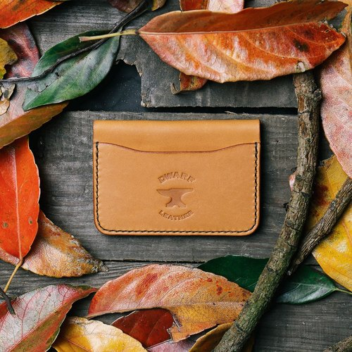 Classic Card Wallet - Tan