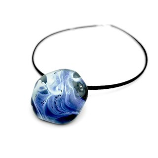 Glass Pendant Marble Collection