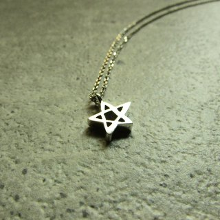 Mittag NL815 estrella necklace_ stars necklace 925 sterling silver limited edition