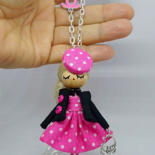Doll necklace and broch