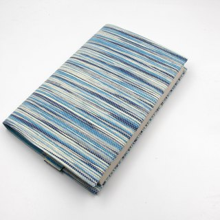 [Paper Cloth] book cover, book clothing (corrugated blue)