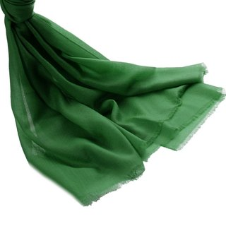 [ANGEL WOOLEN] Emerald Elf Cashmere Diamond Cashmere Shawl Scarf