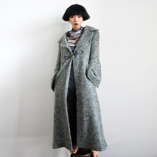 Pumpkin Vintage. Ancient classical buckle wide sleeves long coat