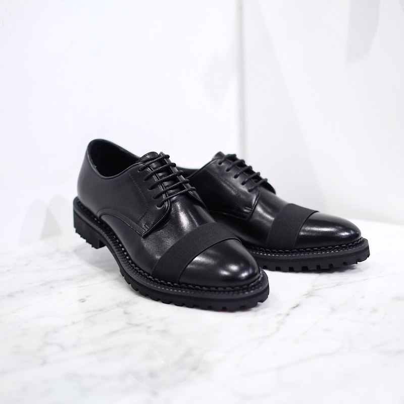 Placebo 2.0 black band oxford Men shoes