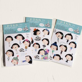 To paste together - Stacy move ㄘ series of mobile ㄘ transparent waterproof stickers
