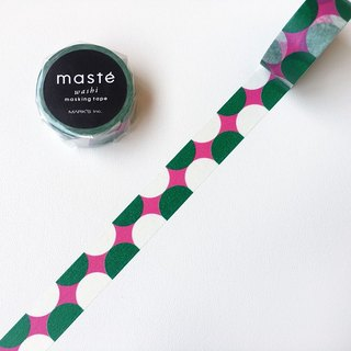 maste and paper tape Multi Pattern [retro semicircle (MST-MKT186-B)]
