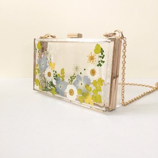 True Flower Dry Flower Clutch Clutch Dinner Bag CLUTCH
