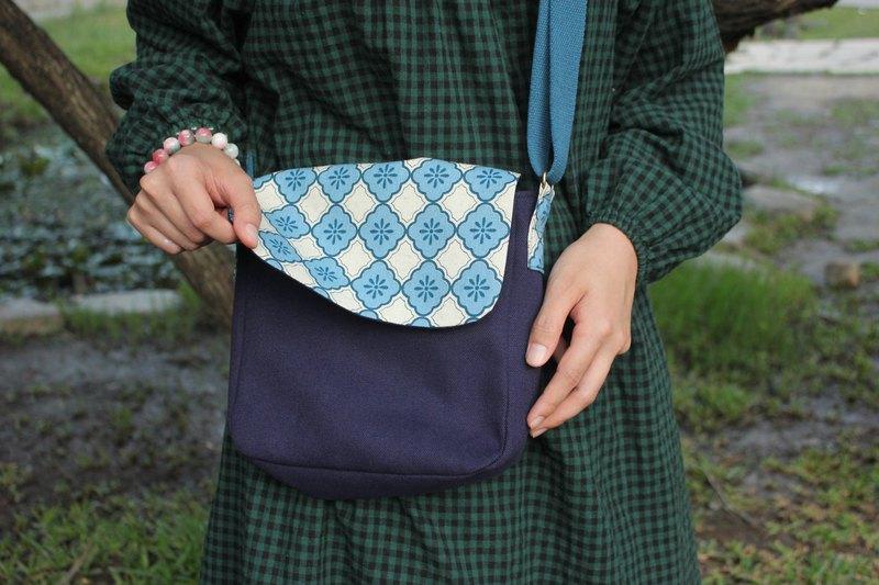 【老玻璃】磁扣斜背包/肩背包/側背包/方形包