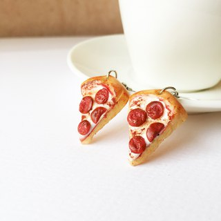 Pizza earring 455