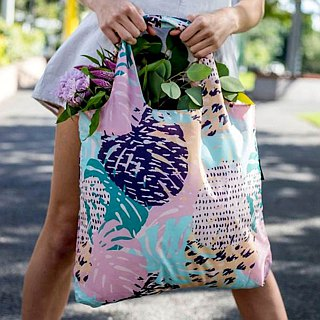 ENVIROSAX Australian Reusable Shopping Bag-Palm Springs Oasis