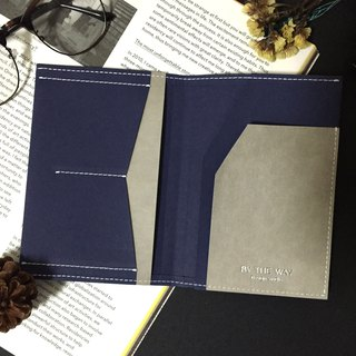 Passport – washable kraft paper   blue and gray