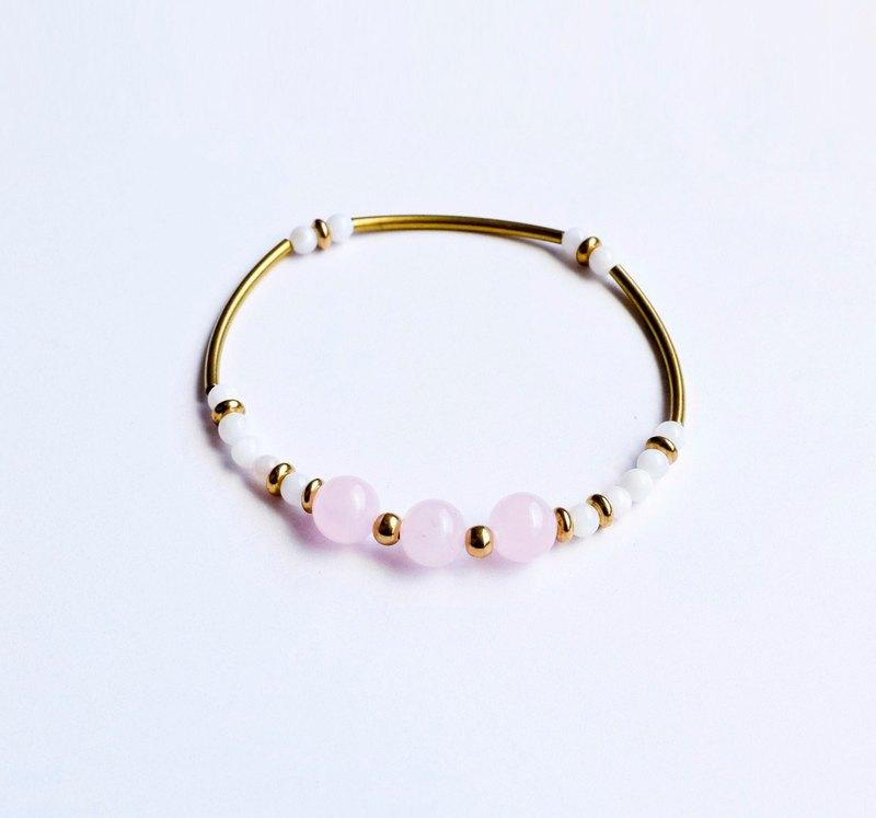 Pink Crystal Aphrodite Bracelet Corolla Custom Christmas Gift