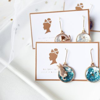 Time Shard Series - Cute Kitten Earrings Ear Clips
