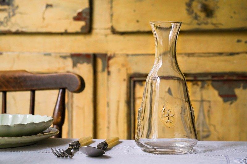 法式百合玻璃水瓶