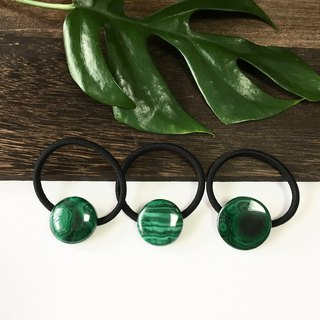 Malachite Hair-tie