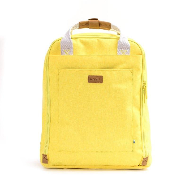 cd49fc9dc4e4 GOLLA Nordic Finnish Fashion Minimalist Backpack-G1765-Yellow