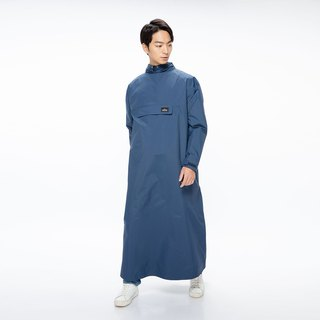 PostPosi environmental protection anti-wear raincoat second generation - quiet blue _2018 new