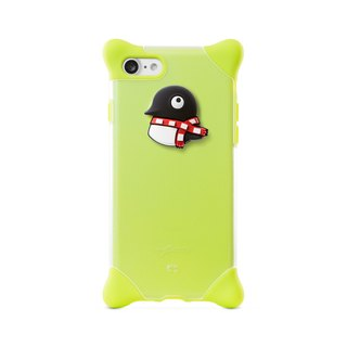 Bone / iPhone 8 / 7 Bubble Protector - Penguin Maru