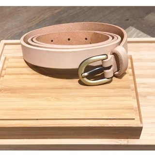 Affinity | Partial Affinities Leather Handmade Belt (Fine)