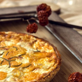 雙起司香料洋芋鹹派 Herbal Cheese Potato Quiche