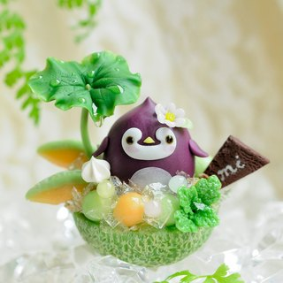 ☆ Sweet Dream ☆ summer rain penguin baby baby melon oun / pure ornaments