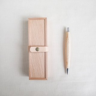 Wood pen box set / automatic pen gift stationery