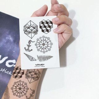 TU tattoo sticker - cool small tattoo / tattoos / waterproof tattoo / Original /tattoo sticker