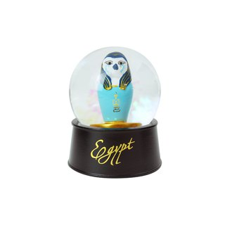 Egyptian Crystal Ball Magnet Eagle Can