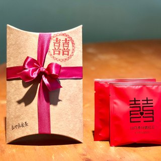 Thank You flower three-dimensional tea bag - Alishan honey black tea / hand picking original leaves / 2 into the ribbon box