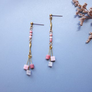 Wind chimes - earring  clip-on earring