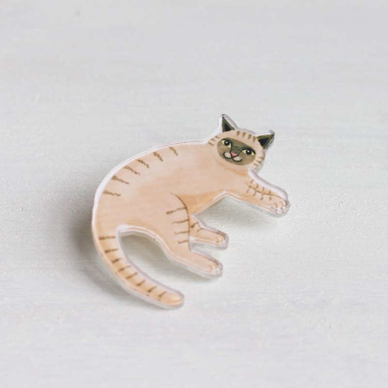 Siamese Cat small pin / pin I Cat Lover