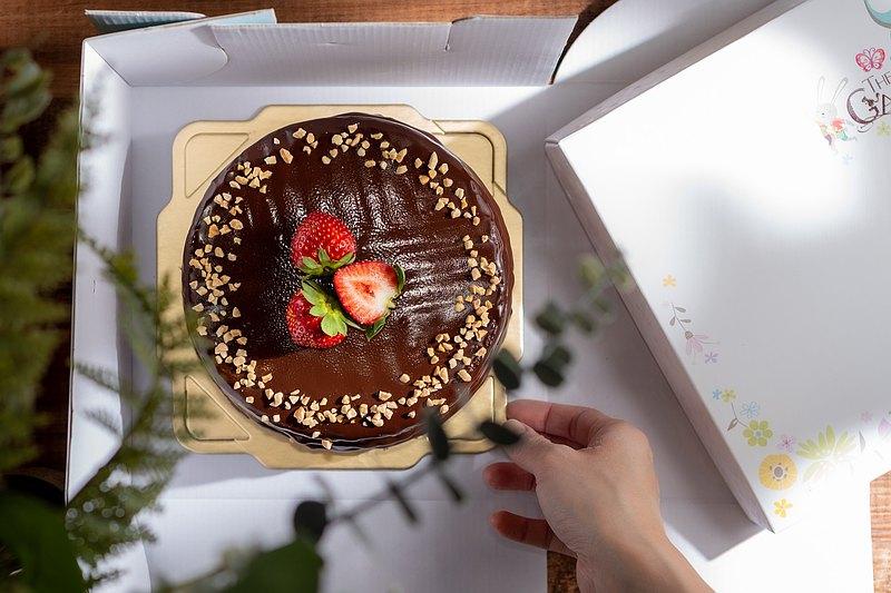 法芙娜巧克力甘納許Valrhona Chocolate Ganache(六吋)