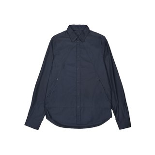 oqLiq - AdHeRe - Mountain zip shirt (black and blue)