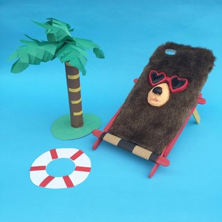 SUMMER BEAR PHONE CASE