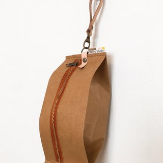 Snackpack : Kraft brown paper bag