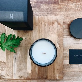 MAYBES / Limited Edition _ Frosted Wood Cap Fragrance Soy Candles