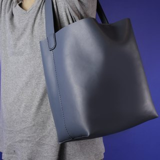 Zemoneni lady leather shoulder bag in grey color